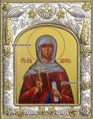 Виктория (Ника) Коринфская, икона в ризе артикул 41002