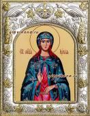 Иулия Юлия Карфагенская икона в ризе артикул 41541