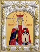 Людмила Чешская икона в ризе артикул 41506