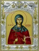 Марина Антиохийская икона в ризе артикул 41563