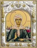 Матрона Московская икона в ризе артикул 41873