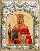 Царица Тамара, икона в ризе артикул 41422
