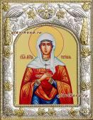 Татиана Римская, икона в ризе артикул 41598