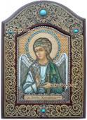 Ангел Хранитель икона из бересты