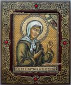 Писанная на бересте икона Матроны
