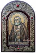 Серафим Саровский икона на бересте