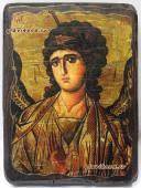 Архангел Гавриил икона состаренная