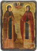 Петр и Феврония, икона