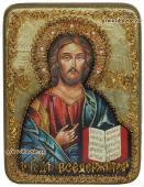 Господь икона под старину подарочная