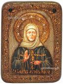 Матрона, подарочная икона под старину