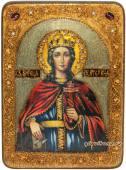 Екатерина икона состаренная