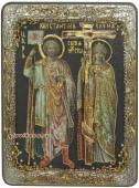 Константин и Елена икона