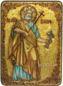 Святой апостол Петр икона в подарочном футляре