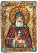 Илья Муромец, икона состаренная подарочная