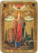 Варвара икона подарочная под старину