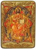 Спас в Силах, икона подарочная под старину