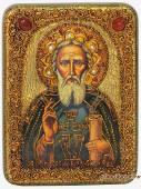 Сергий Радонежский - подарочная икона