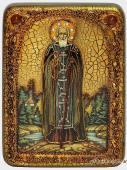 Сергий Радонежский - икона в подарочной упаковке