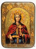 Екатерина - икона подарочная