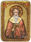 Григорий Богослов - икона подарочная