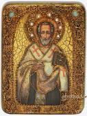 Иоанн Златоуст - икона подарочная