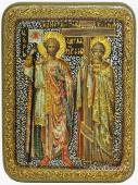 Константин и Елена - икоан подарочная