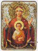 Знамение Божия Матерь - подарочная икона