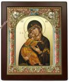 Икона Владимирская греческого производства