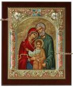 Святое Семейство, икона в ризе