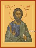 Андрей апостол печатная икона на дереве