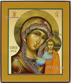 Вид иконы Казанской Божией Матери