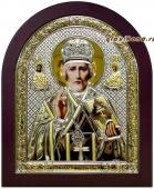Владимирская икона в серебре