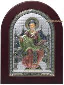 Спиридон Тримифунтский, икона в серебре