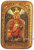 Державная Божия Матерь икона подарочная 10х15 см