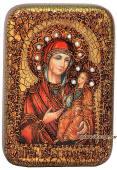 Иверская Божия Матерь икона подарочная 10х15 см