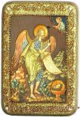 Иоанн Предтеча, подарочная икона на дубе, малая