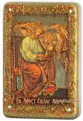 Марк Апостол, подарочная икона на дубе, малая
