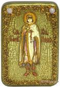 Глеб Благоверный князь икона подарочная 10х15 см