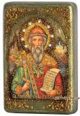 Владимир Князь подарочная икона на дубе малая