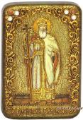 Владимир Князь ростовой икона подарочная 10х15 см