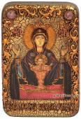 Неупиваемая Чаша Божия Матерь икона подарочная 10х15 см