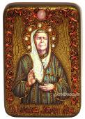Матрона Московская (живописный стиль) икона подарочная 10х15 см