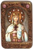 Елена Сербская икона подарочная 10х15 см