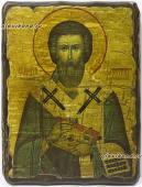 Святой Валентин - икона под старину