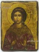 Икона Вероники сделанная под старину