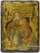 Илья Пророк - икона состаренная