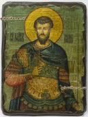Иоанн Воин - икона под старину