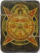 Всевидящее око - икона под старину