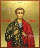 Воин-мученик Евгений Родионов, икона артикул 040