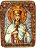Елена Сербская, икона под старину